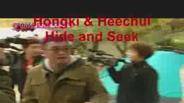 เจ๊ซิลกับฮงกิเล่นซ่อนแอบ