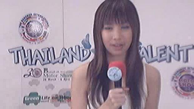 thailand talent : น้องจ๊ะจ๋าโชว์ร้องเพลง