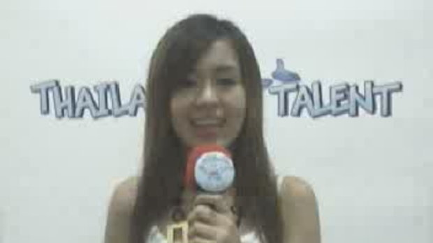 Thailand Talent : น้องวันใหม่แนะนำตัว