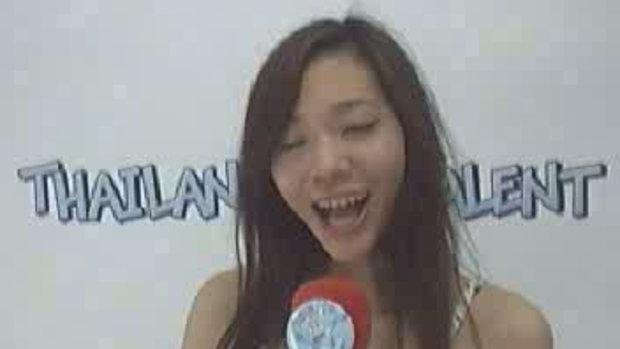 Thailand Talent : น้องน้ำหวานแนะนำตัว