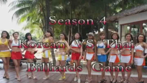 Billiards Game Season 4 : Korean vs Thailand