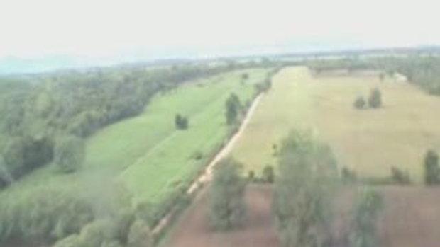 Small aircraft landing