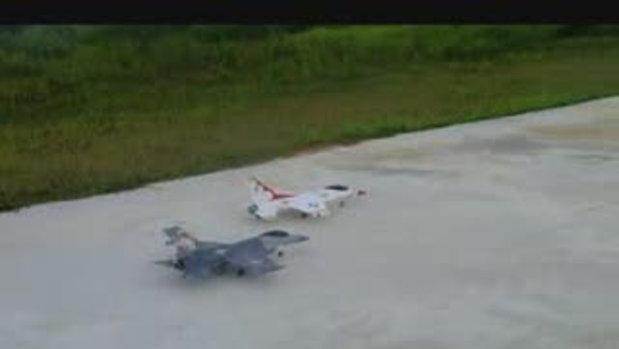 F16 VS SU27 สนามเทวานิมิต