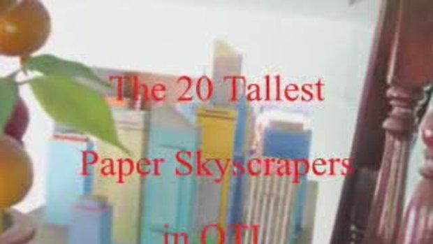 ตึกกระดาษที่สูงที่สุดในโอทีแอล