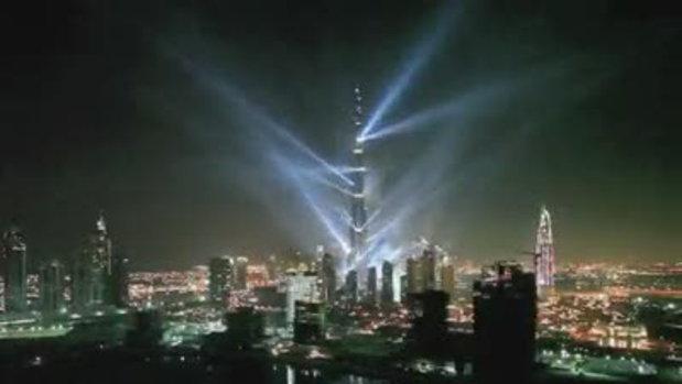 เปิดตัวอาคารที่สูงที่สุดที่ดูไบ