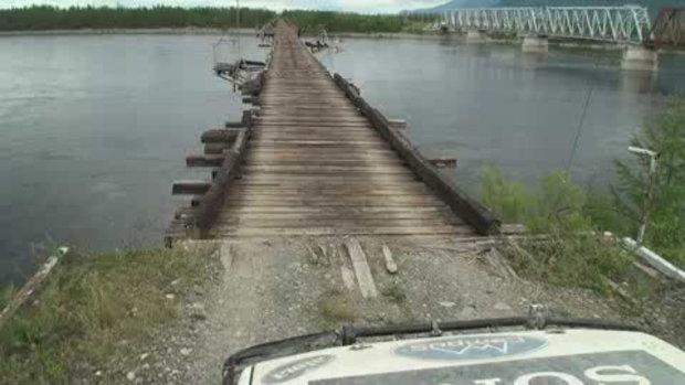 คลิป สะพานที่อันตารยที่สุด