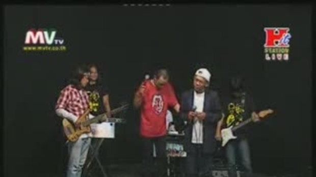 copy show ตลกเท่งน้อย live inรายการ Hit station pa
