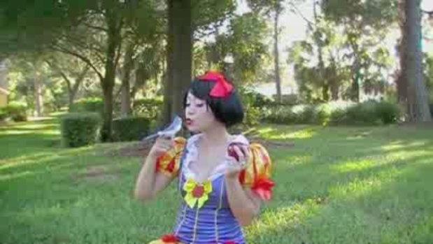 แต่งหน้า สไตล์ Snow White