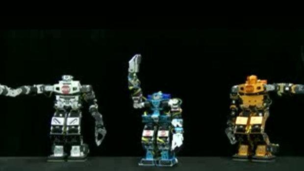 หุ่นยนต์ เตัน nobody