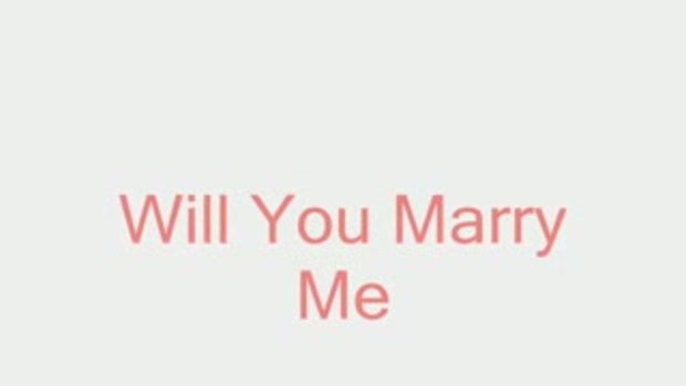 แต่งงานกันนะ