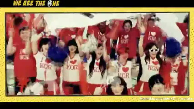 MV เพลง We Are The One - T ara