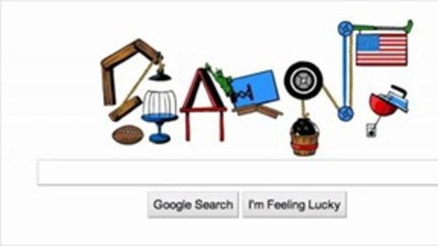 google วันชาติสหรัฐฯ