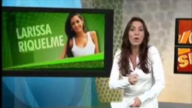 ลาริสซ่า ริเกลเม่ ถ่ายแบบที่บราซิล