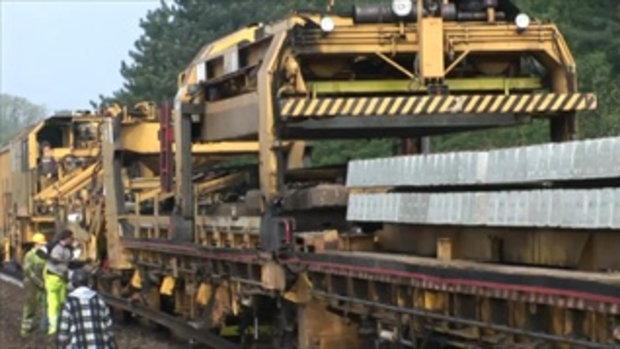 ซ่อมบำรุงรางรถไฟ!!