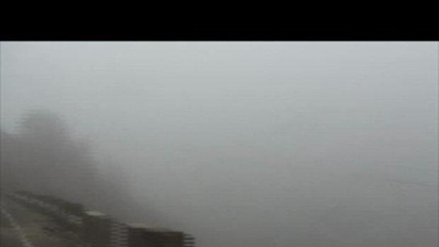 ขี่ฝ่าพายุหมอกในจีน-เวสป้าผจญภัย
