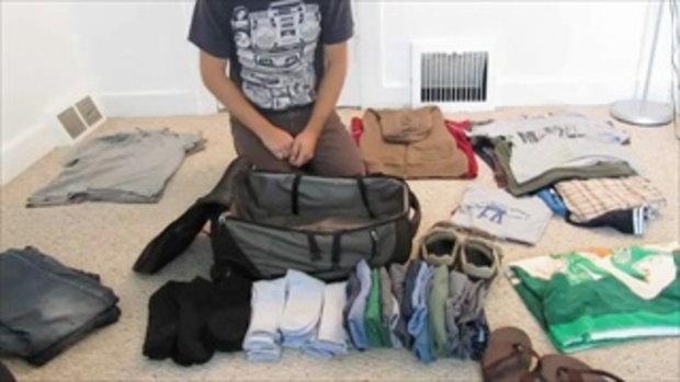 วิธีแพ็คกระเป๋าไปเที่ยวอย่างโปร