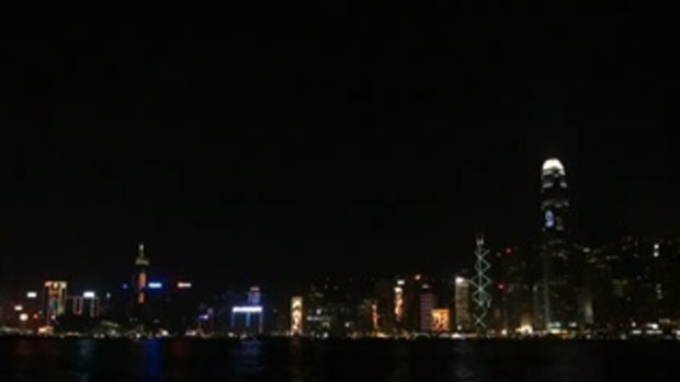 Countdown 2011 - เกาะฮ่องกง