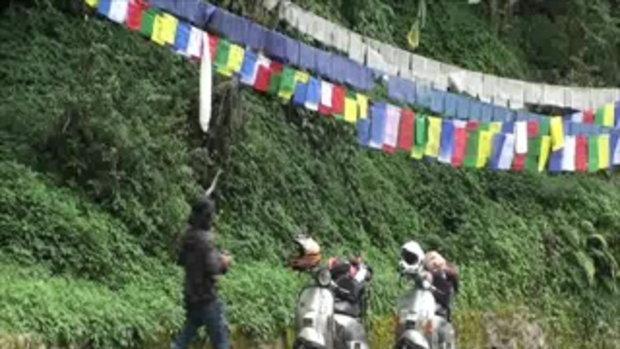 เจโอ๋เวสป้าผจญภัย-ธงกลางป่า(เนปาล)