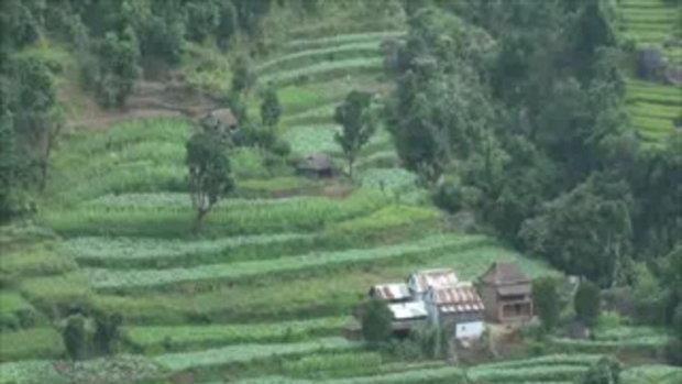 เจโอ๋เวสป้าผจญภัย-ภูเขาเกษตรกรรม(เนปาล)
