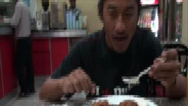 เจโอ๋เวสป้าผจญภัย-อาหารในทาเมลกาฐมันฑุ(เนปาล)