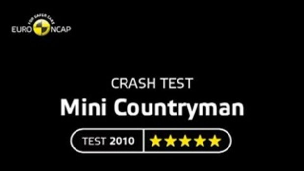 MINI Countryman 2010 - Crash test