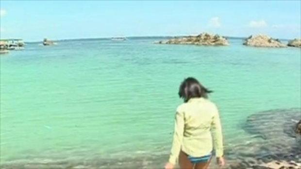 Shinozaki Ai lagoon