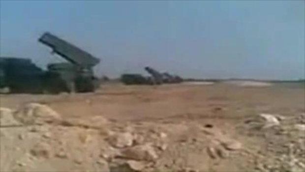 คลิปจากฝั่งเขมร เครื่องยิง BM21 ขณะยิงถล่มใส่ไทย