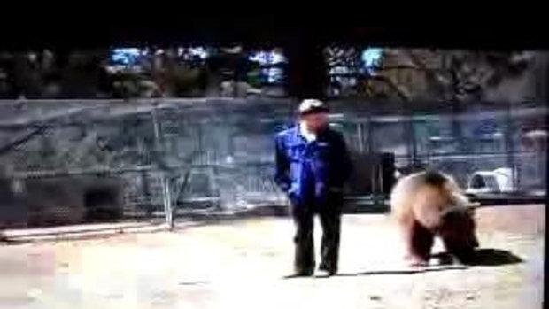 สยองขวัญ ครูฝึกดวงซวย โดนหมีบุกทำร้าย