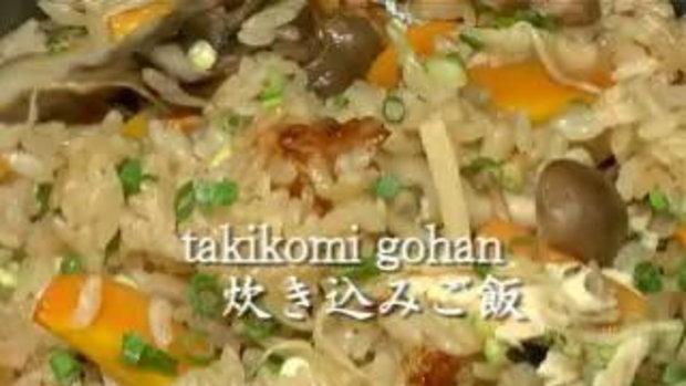 วิธีการทำ Sanma Takikomi Gohan