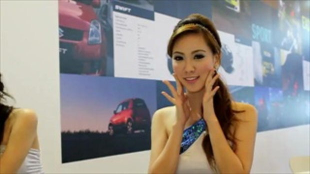 จัดเต็ม! สาว motor show 2011 -  race queens