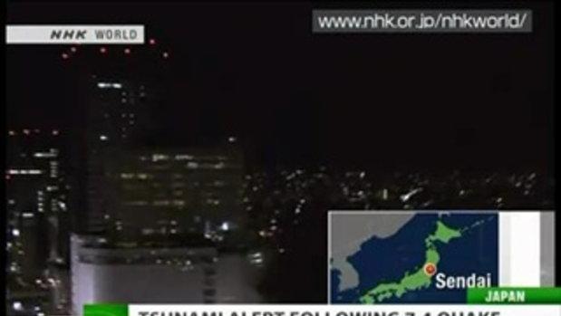 แผ่นดินไหวญี่ปุ่นกลางดึก 7.4 ริกเตอร์
