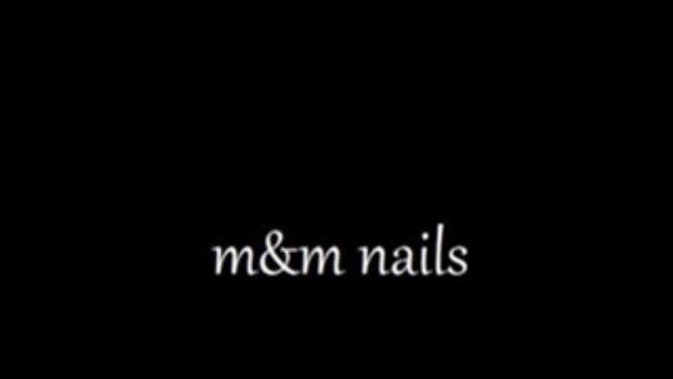 ทำเล็บลาย M&M