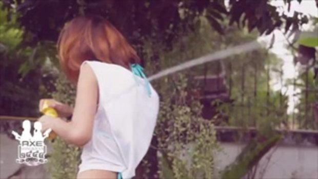 สาวAXE sexy เล่นน้ำสงกรานต์ - น้องพลอย 2/7