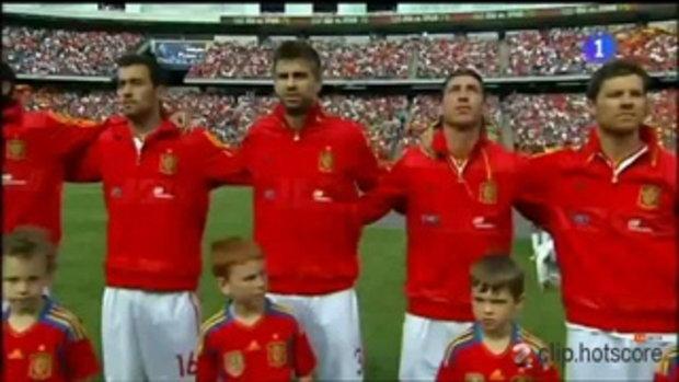 สหรัฐอเมริกา 0-4 สเปน