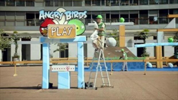 Angry Birds นกพิโรธ ของจริง