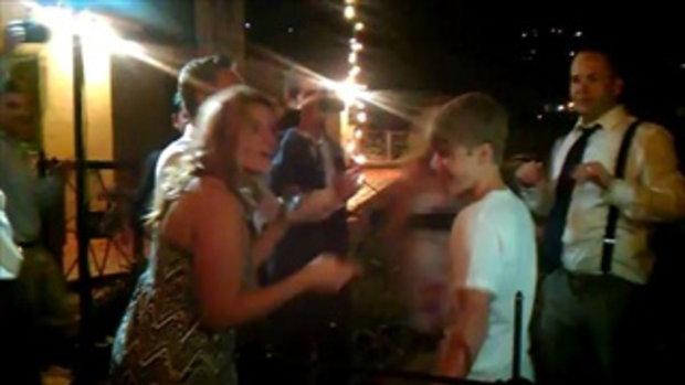 Justin Bieber crashes my cousin's wedding in Malibu