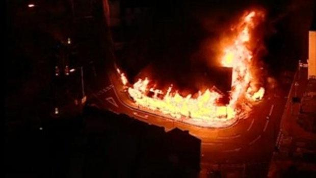 เหตุการณ์จราจล เผาเมือง ลอนดอน อังกฤษ 2