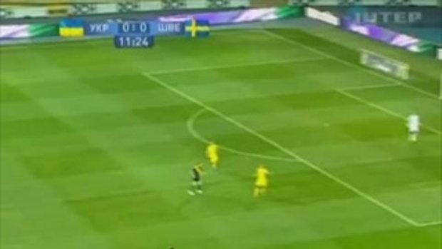 ยูเครน 0-1 สวีเดน (กระชับมิตรทีมชาติ)