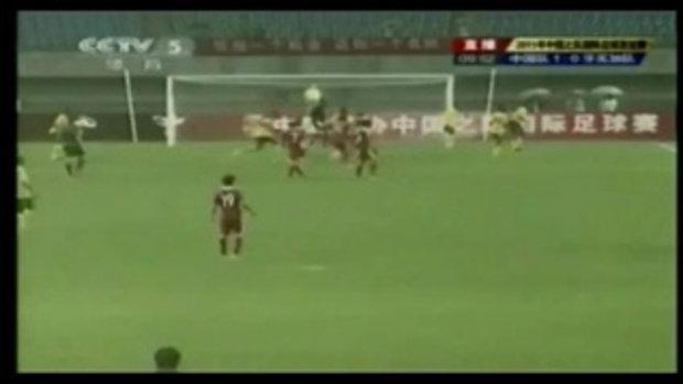 จีน 1-0 จาไมก้า (กระชับมิตรทีมชาติ)