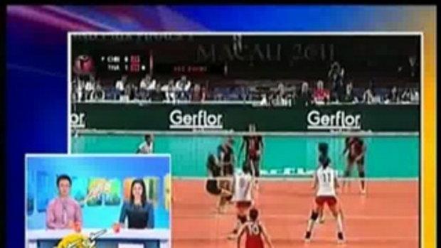 สัมภาษณ์ นักวอลเลย์บอลสาว ทีมชาติไทย