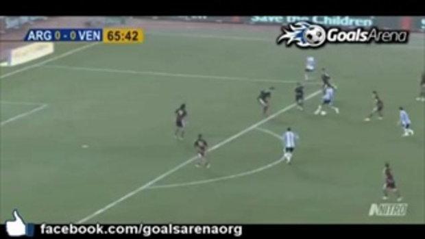 เวเนซุเอล่า 0-1 อาร์เจนติน่า กระชับมิตรทีมชาติ