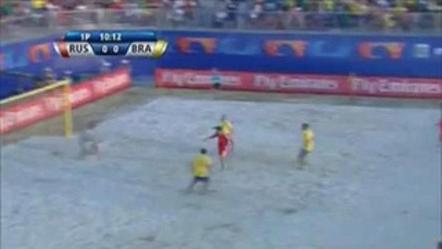 รัสเซีย พลิกล็อกคว่ำ บราซิล 12-8 บอลชายหาดชิงแชมป์โลก
