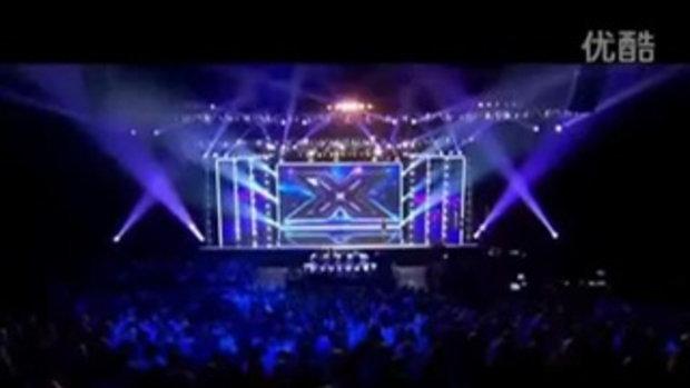 เจ๊หมวย โชว์สเต็ปเต้นยั่วกรรมการ ใน X Factor อังกฤษ