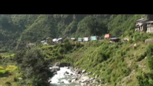 เจโอ๋เวสป้าผจญภัย-เจโอ๋ตะลุยลำธารด่านโคดาริ Kodari Nepal