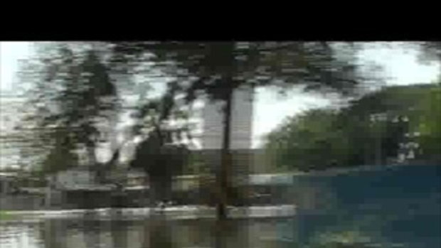 น้ำท่วมปทุมธานี ถนนรังสิตนครนายกน้ำท่วม คลอง1 เจโอ๋รายงาน 22ตุลาคม2554