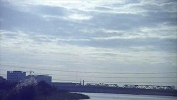 สภาพปริมาณน้ำริมฝั่งแม่น้ำเจ้าพระยาบริเวณปากคลองบางเขนเก่าเช้าวันที่28ตุลา