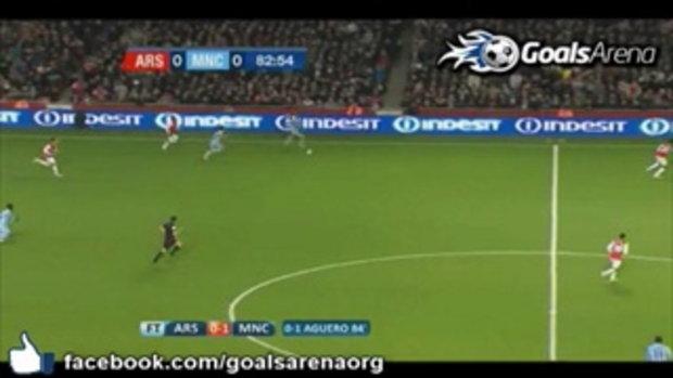 อาร์เซนอล 0-1 แมนซิตี้ ไฮไลท์ คาร์ลิ่ง คัพ