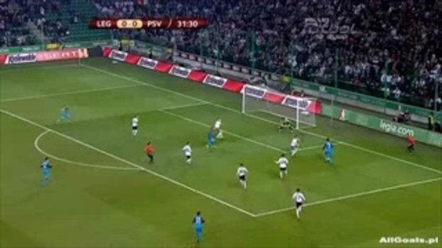 ลีเกีย วอร์ซอว์ 0-3 พีเอสวี ไอนด์โฮเฟ่น ไฮไลท์ ยูฟ่า ยูโรป้า ลีก