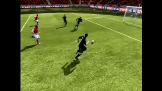 เกมสยอง! Fifa 2012 ยิงเข้า มีดูดปาก