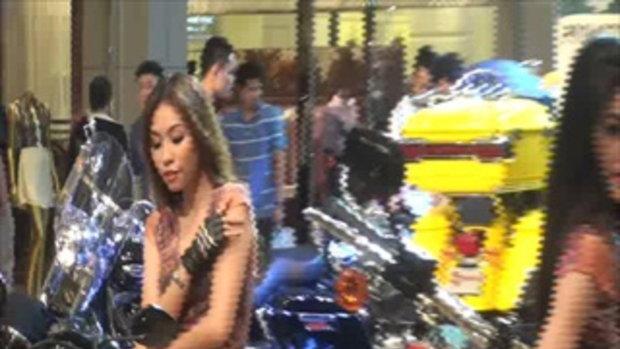 เจโอ๋สัญจร ตอนที่5 -สาวพริ๊ตตี้Harley Bangkok Motorbike Festival 2012